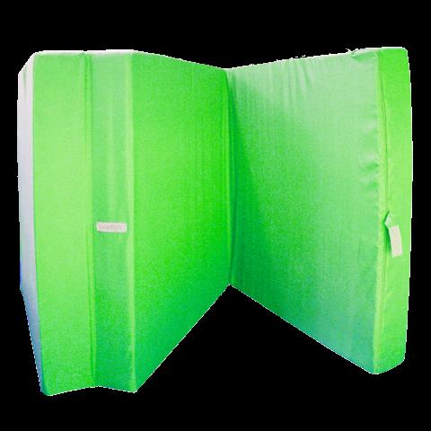 Сгъваем матрак 195/80/10 см. ябълково зелен