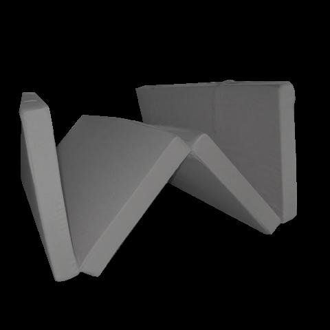 Сгъваем матрак 195/120/7 см. графит