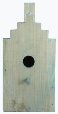 Къщичка за птички за стена 1.6