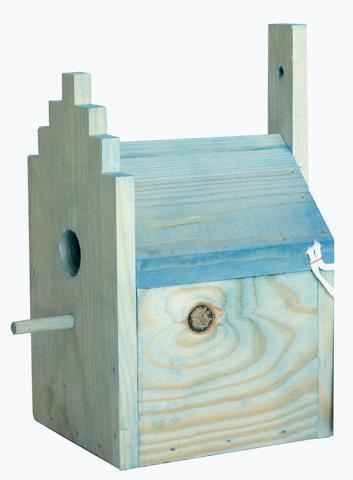 Къщичка за птички за стена 1.2