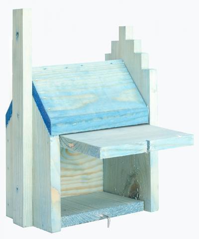 Къщичка за птички за стена 1.3