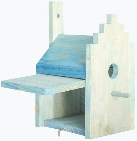 Къщичка за птички за стена 1