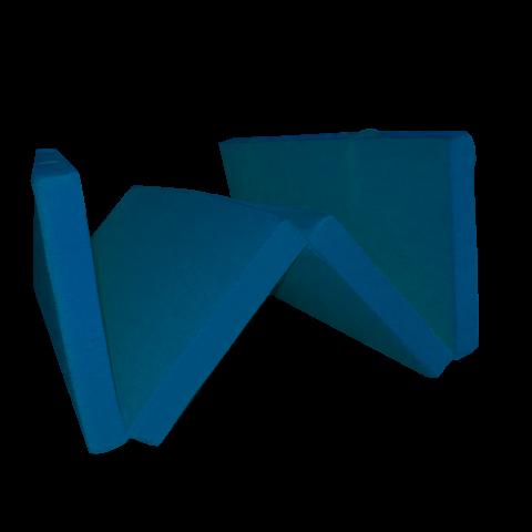 Сгъваем матрак 195/120/7 см. тъмно син