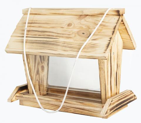 Хранилка за птички с двойно стъкло 1