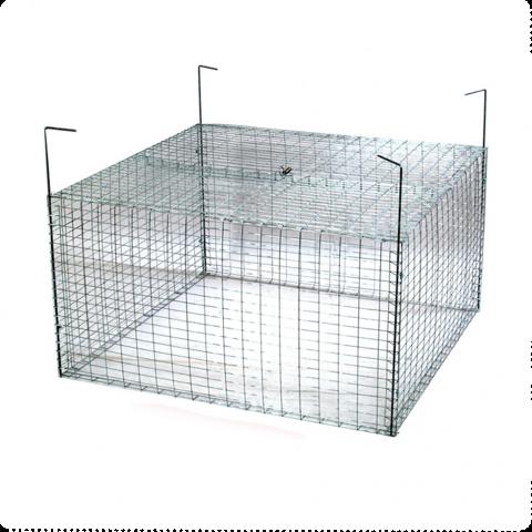 Клетка за пилета и зайци