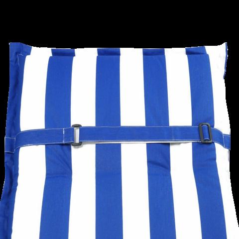 Възглавница за стол със захващене на облегалката и на седалката