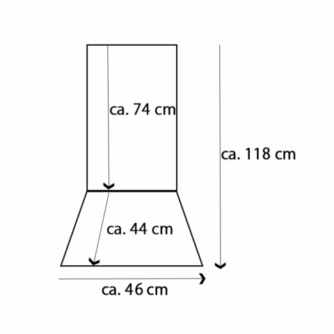 Възглавница за стол с висока облегалка