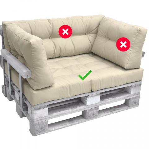 Палетна възглавница седалка ЛУКС 2
