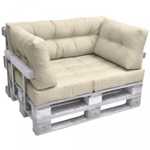 Комплект възглавници за мебел от палета ЛУКС 4