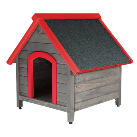 Цветна къща за куче